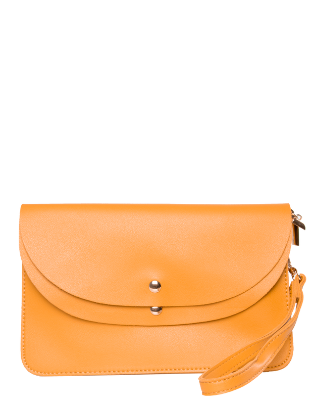 Yellow Clutch Bag | Jordan