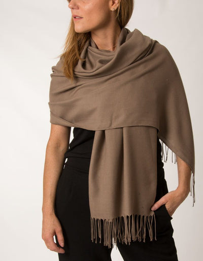 Light Brown Pashmina