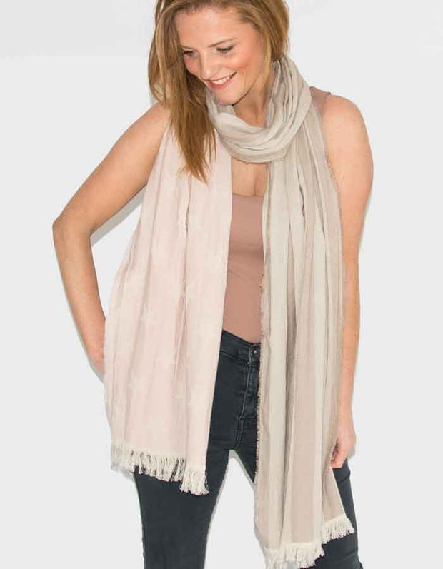 an image showing a star print scarf