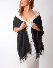 Black Wedding Pashmina