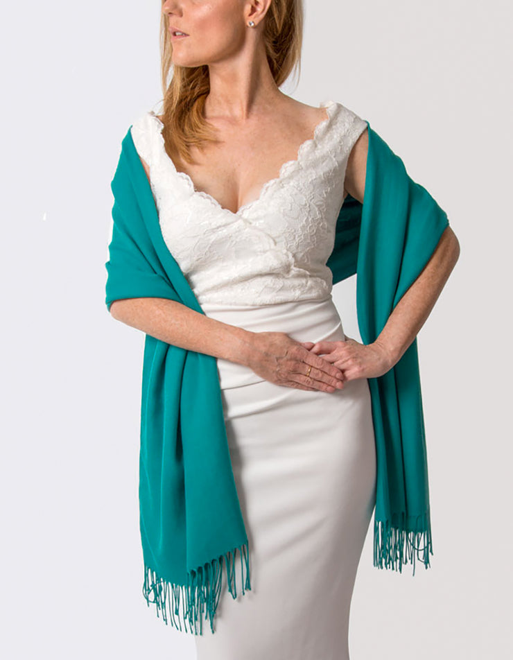Emerald Green Wedding Pashmina