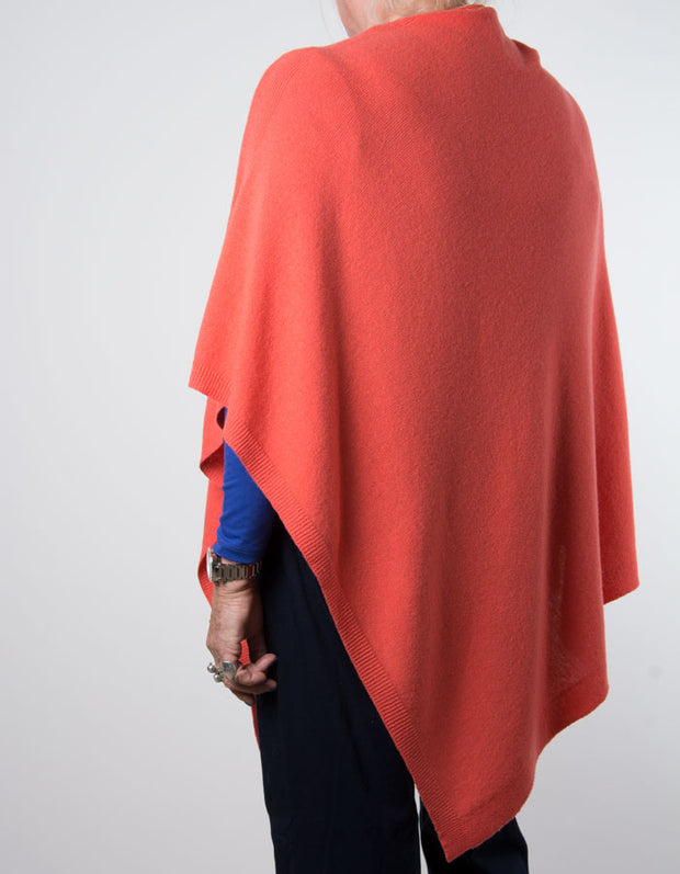 an image showing a coral poncho