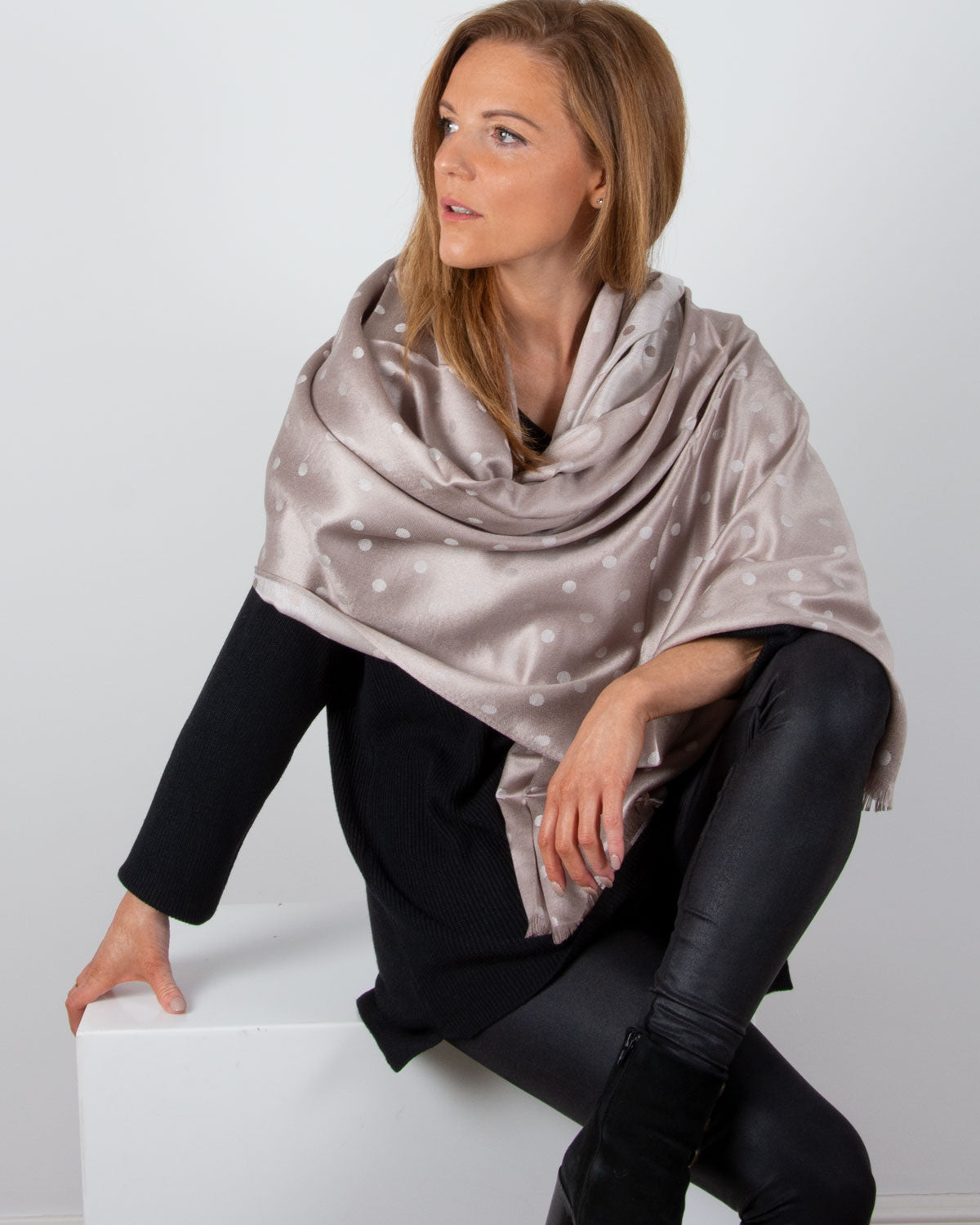 an image showing a patterned pashmina