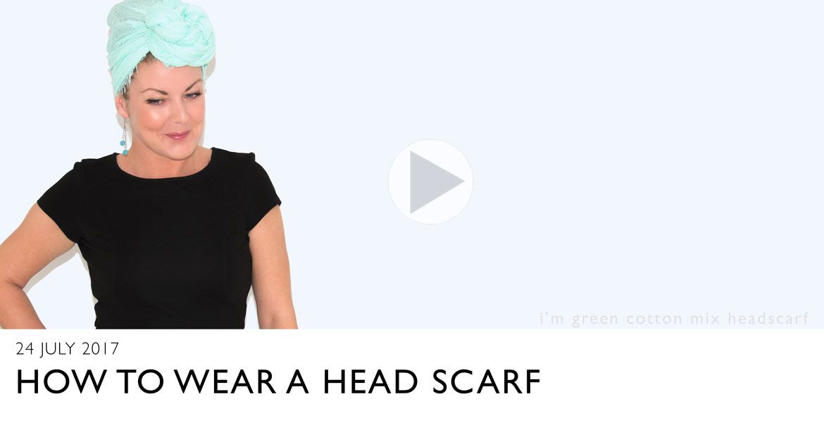 IMAGE SHOWING A SCARF and link to You Tube