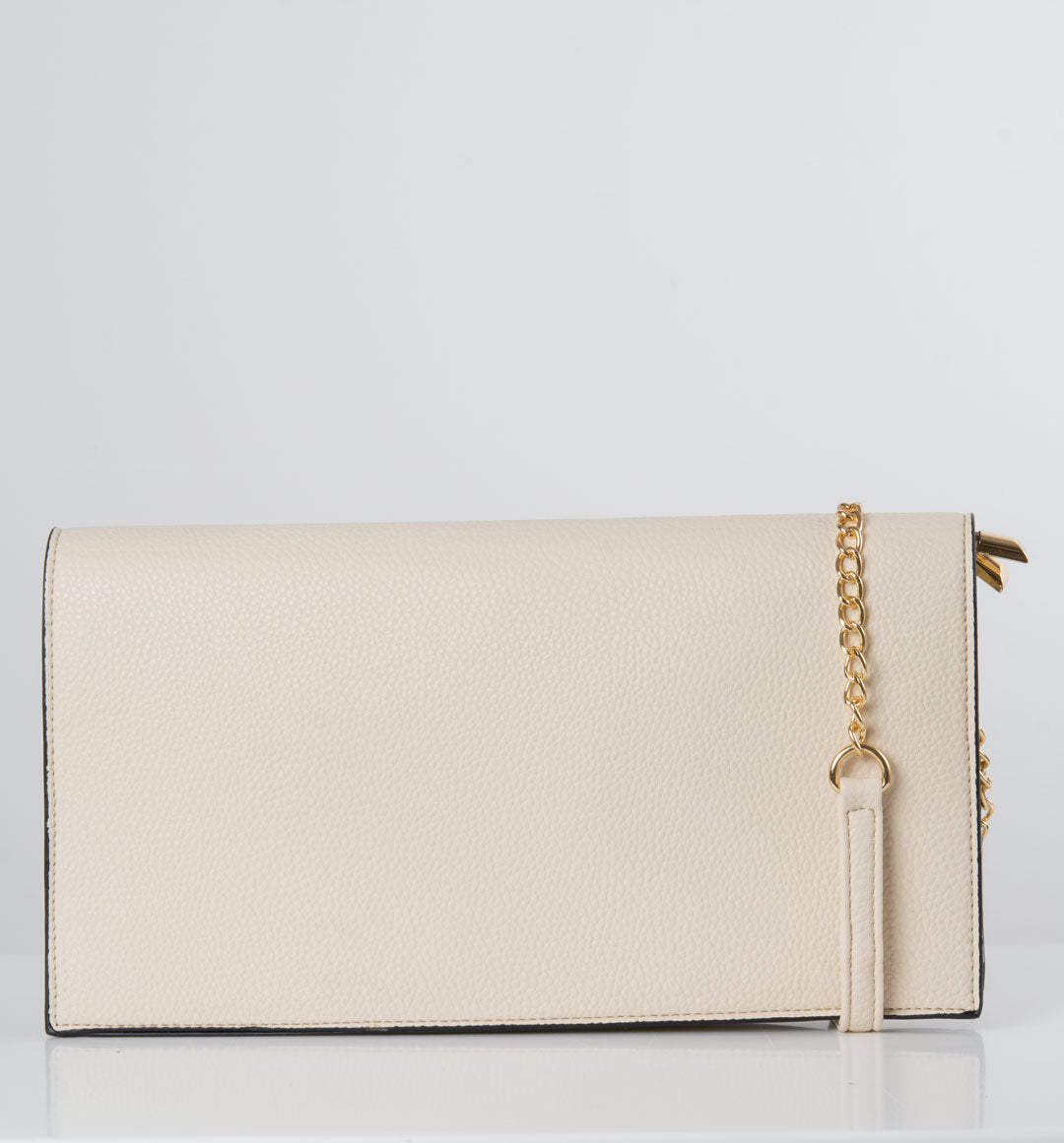 an image showing a cream shoulder bag