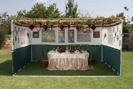 Classic Standard Easy Lock Sukkah With Scach