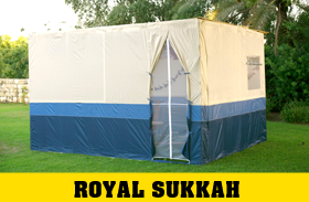 Royal Multi Color Easy Lock Sukkah Without Scach