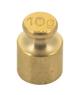 Weight/Mass - 10 g (Brass)
