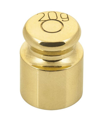 Weight/Mass - 20 g (Brass)