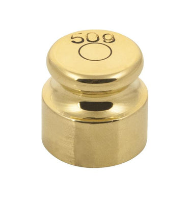 Weight/Mass - 50 g (Brass)