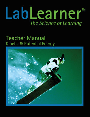 Kinetic & Potential Energy - Teacher Manual