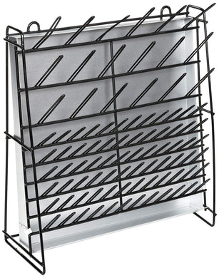 Drying Rack, Vinyl Coated Steel Wire Draining/Drying Rack (for volumetric lab-ware)