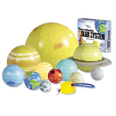 Inflatable Solar System (ages 4-9)