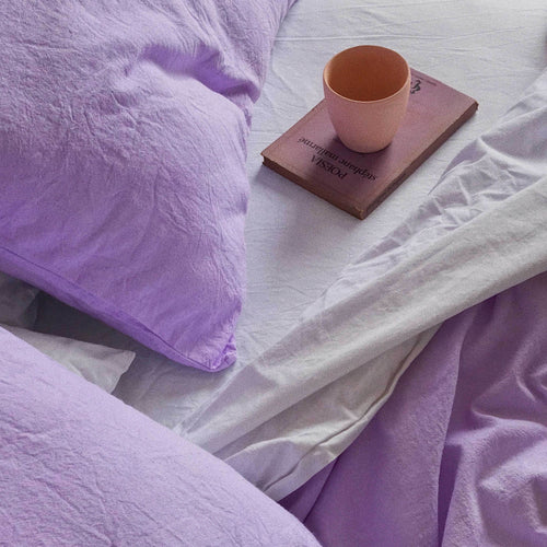 Pillow slips set in Lilac