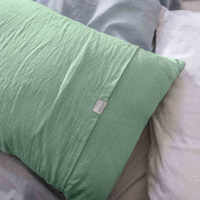 Load image into Gallery viewer, Pillow slips set in Mint