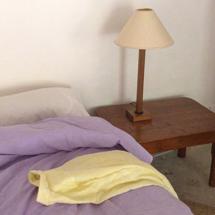 Duvet cover in Lilac