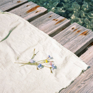 Beach blanket ~ Mint