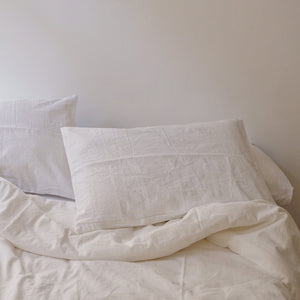 Duvet cover in White