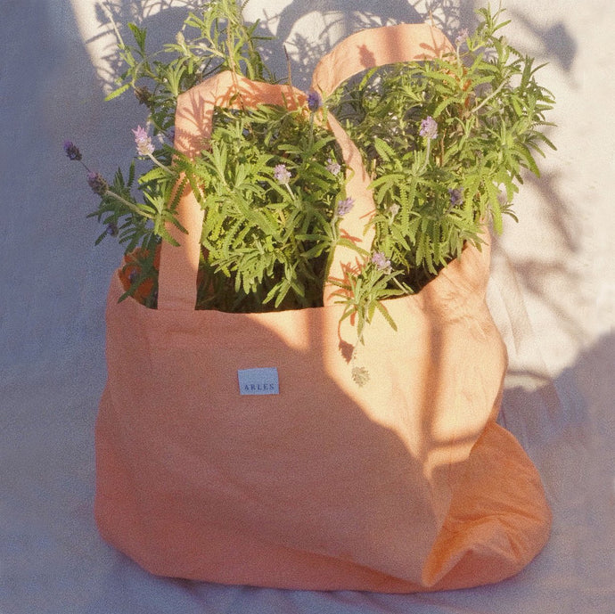 Provenzal Tote Bag in Salmon