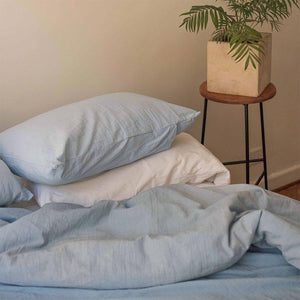 Pillow slips set ~ Light blue