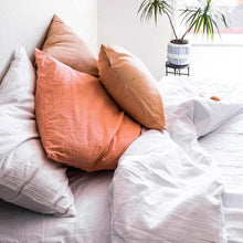 Load image into Gallery viewer, Pillow slips set in Salmon