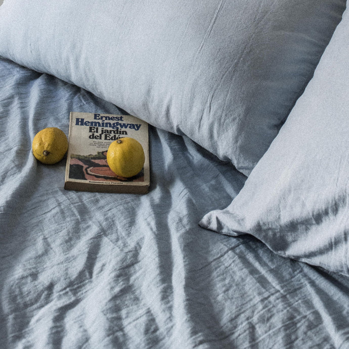 Duvet cover in Light blue