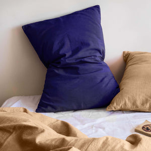 Pillow slips set ~ Navy blue