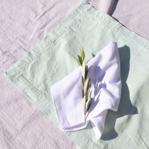 Napkin set ~ White