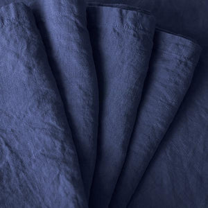 Napkin set ~ Navy blue