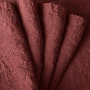 Napkin set ~ Burgundy
