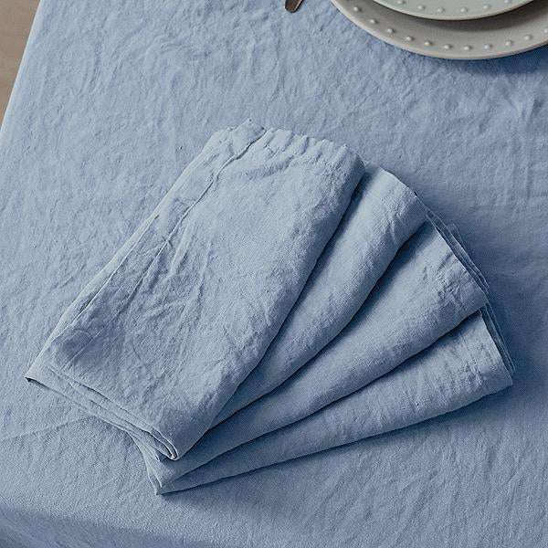 Napkin set ~ Light blue