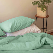 Duvet cover in Mint