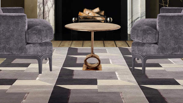 Ludo Tile in Smoked Plum Meredith Heron Collection