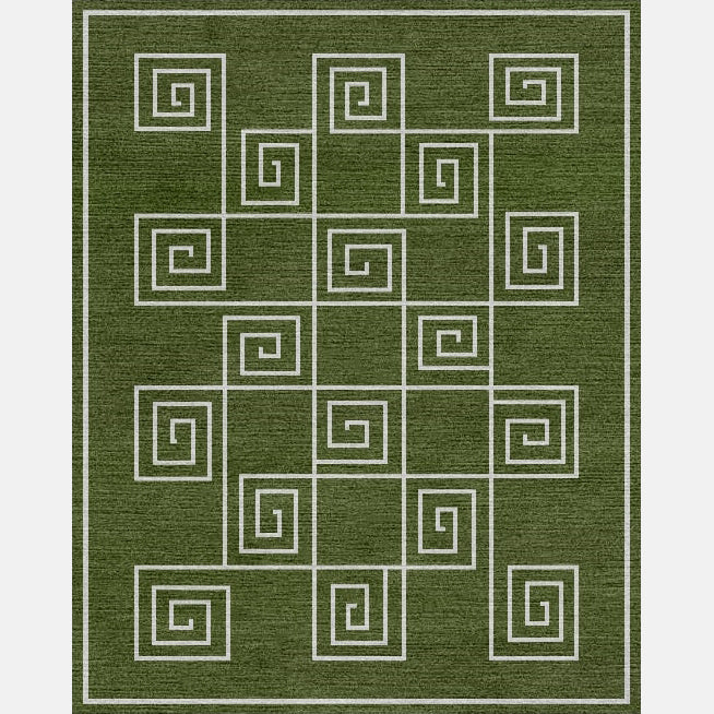 Handsart Key Rug - Meredith Heron Collection