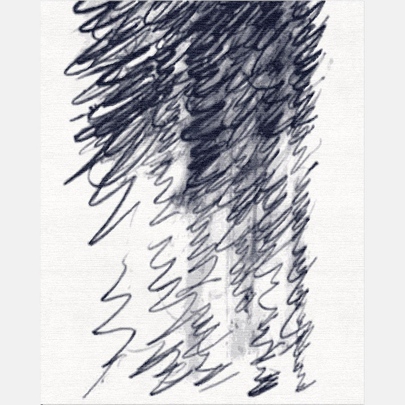 Ode to Cy Twombly Rug - Meredith Heron Collection