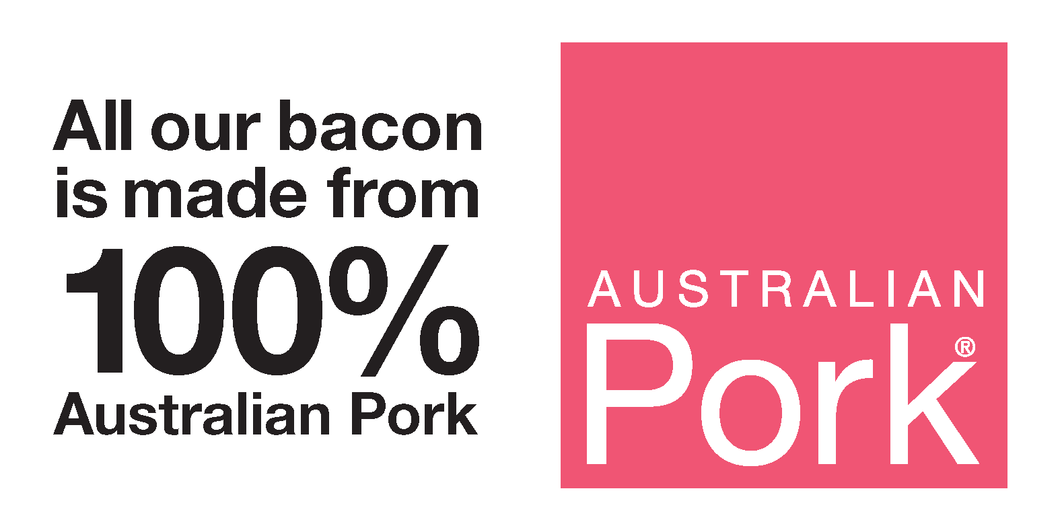 Glass Decal- Australian Bacon