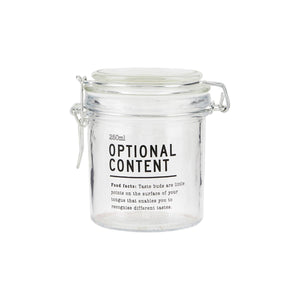 Optional Content lasipurkki 250 ml