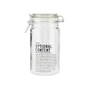Optional Content lasipurkki 900 ml