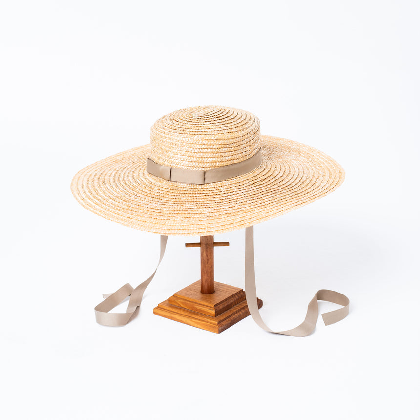 Wheat Straw Bolero Hat