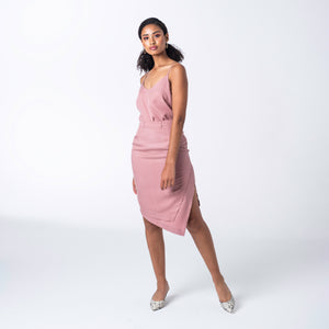 Pink Tencel Skirt