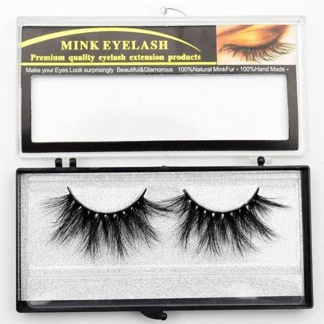 be80bf5367e ... Load image into Gallery viewer, 3D Mink Eyelashes ...