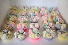 Load image into Gallery viewer, Floral Bouquet 3 Cupcake Soap