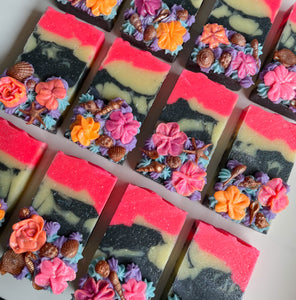 Wild Floral-Aquatic Loaf Soap