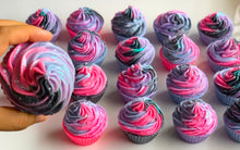 Load image into Gallery viewer, Galaxy Cupcake Soap