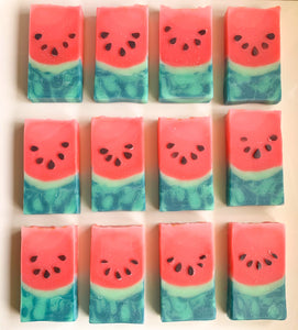 Ombré Watermelon Loaf Soap