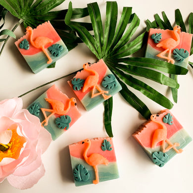 Aruba Island Flamingo Soap