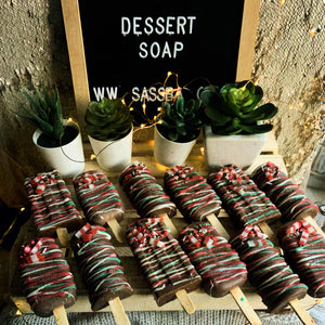X'Mas Chocolate Popsicle Soap