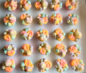 Spring Bouquet Cupcake Soap
