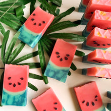 Load image into Gallery viewer, Ombré Watermelon Loaf Soap