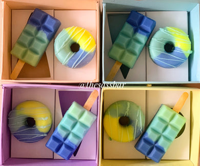 Summer Blues (Set of 2) Soap